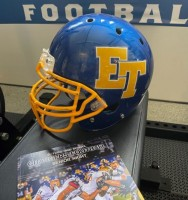 El Toro Football Used Game Helmet